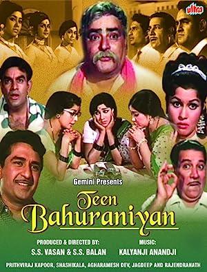 Where to stream Teen Bahuraniyan