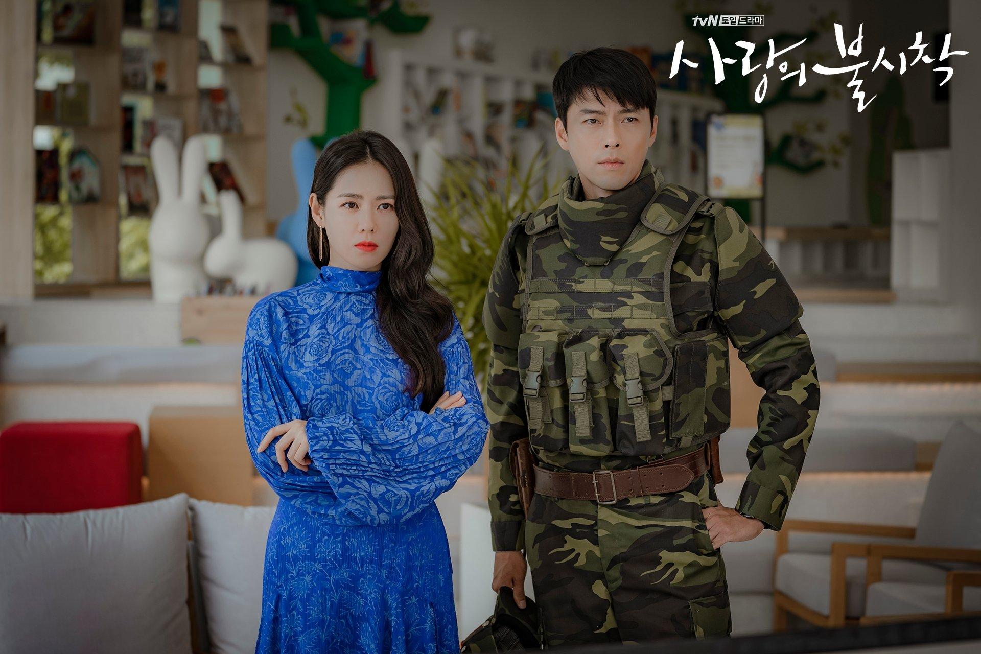 Son Ye-Jin and Hyun Bin in Crash Landing on You (2019)