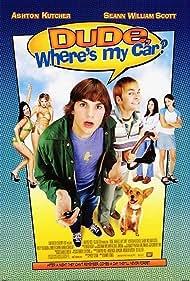 Jennifer Garner, Ashton Kutcher, Seann William Scott, and Marla Sokoloff in Dude, Where's My Car? (2000)