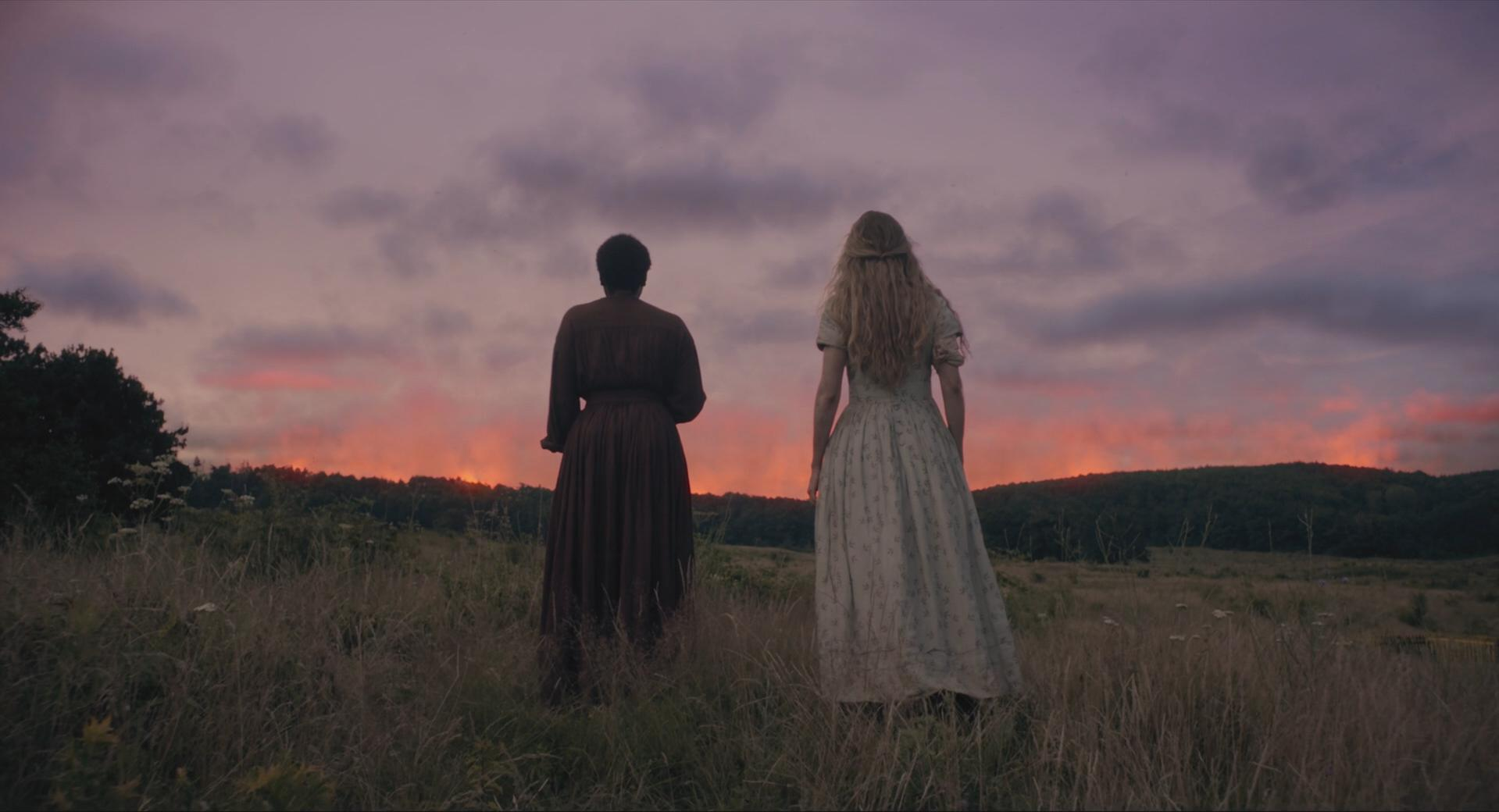 Brit Marling and Muna Otaru in The Keeping Room (2014)