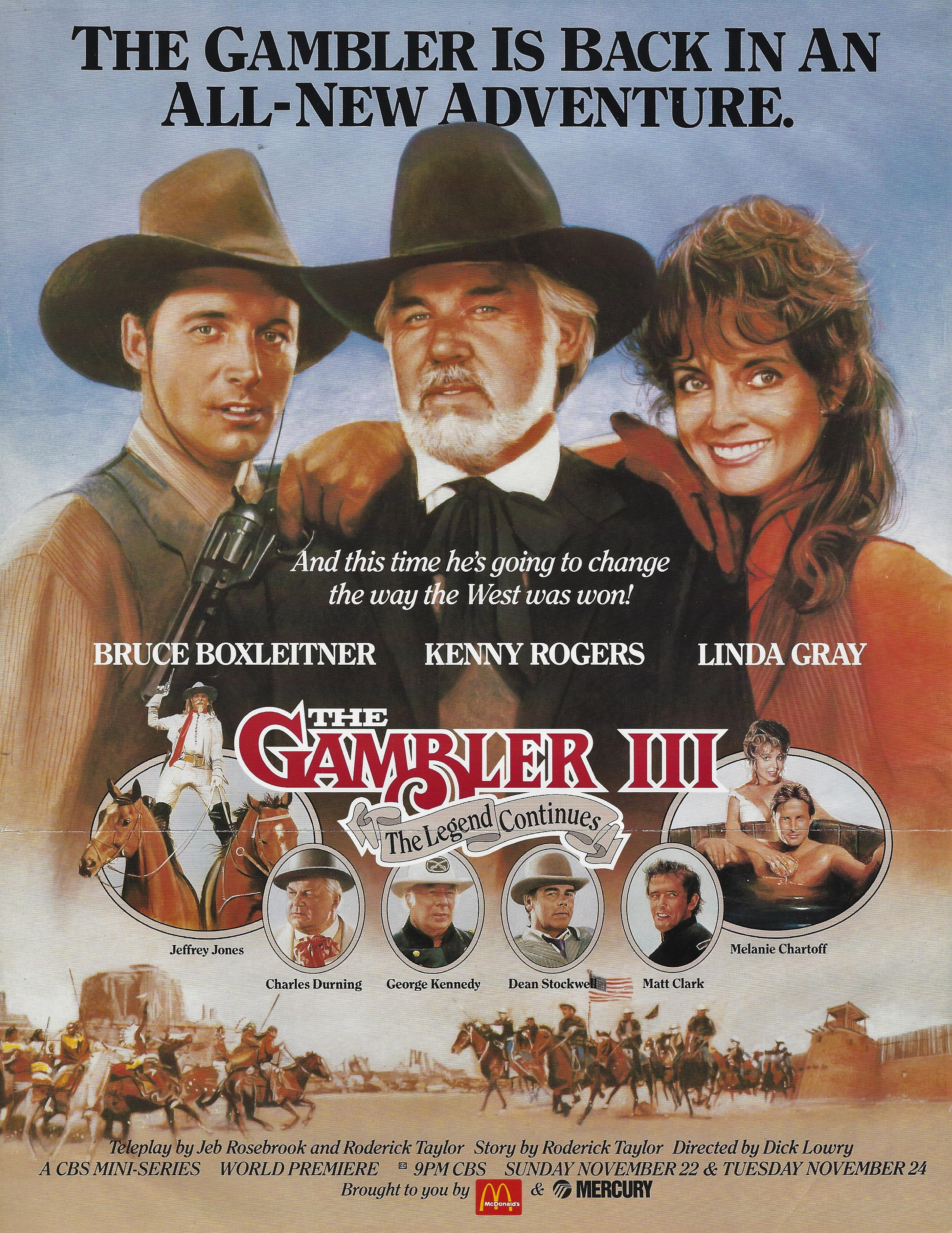 Kenny Rogers As The Gambler Part Iii The Legend Continues Tv Movie 1987 Imdb