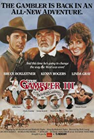 Bruce Boxleitner, Jeffrey Jones, Charles Durning, George Kennedy, Dean Stockwell, Melanie Chartoff, Linda Gray, and Kenny Rogers in Kenny Rogers as The Gambler, Part III: The Legend Continues (1987)