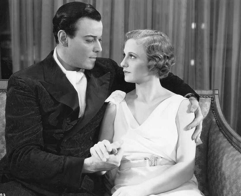 Nils Asther and Renee Gadd in The Love Captive (1934)