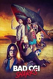 Bad CGI Sharks Poster