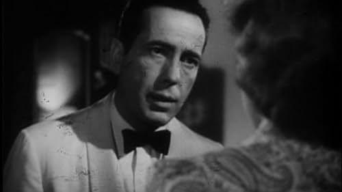 Trailer for the classic drama Casablanca starring Humphrey Bogart and Ingrid Bergman.