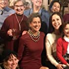 Wendie Malick, Erin Krakow, and Nevis Unipan in Marrying Father Christmas (2018)