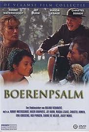 Boerenpsalm Poster