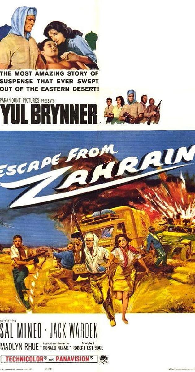 Subtitle of Escape from Zahrain