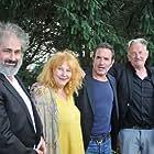 Benoît Delépine, Jean Dujardin, Yolande Moreau, and Gustave Kervern at an event for I Feel Good (2018)