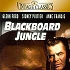 Glenn Ford and Sidney Poitier in Blackboard Jungle (1955)
