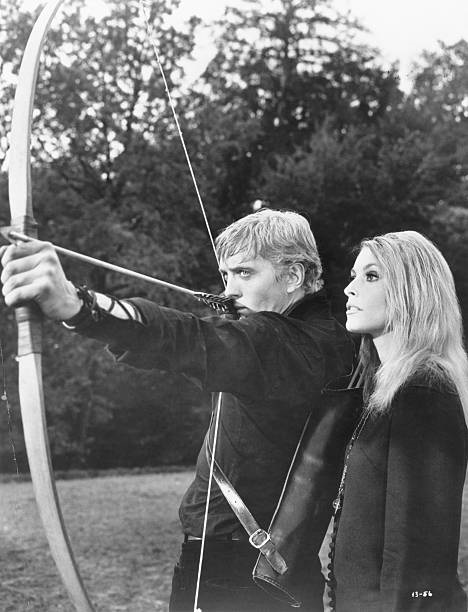 Sharon Tate and David Hemmings in Eye of the Devil (1967)