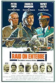 Charles Bronson, Yaphet Kotto, and Peter Finch in Raid on Entebbe (1976)