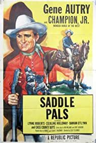 Gene Autry and Champion Jr. in Saddle Pals (1947)