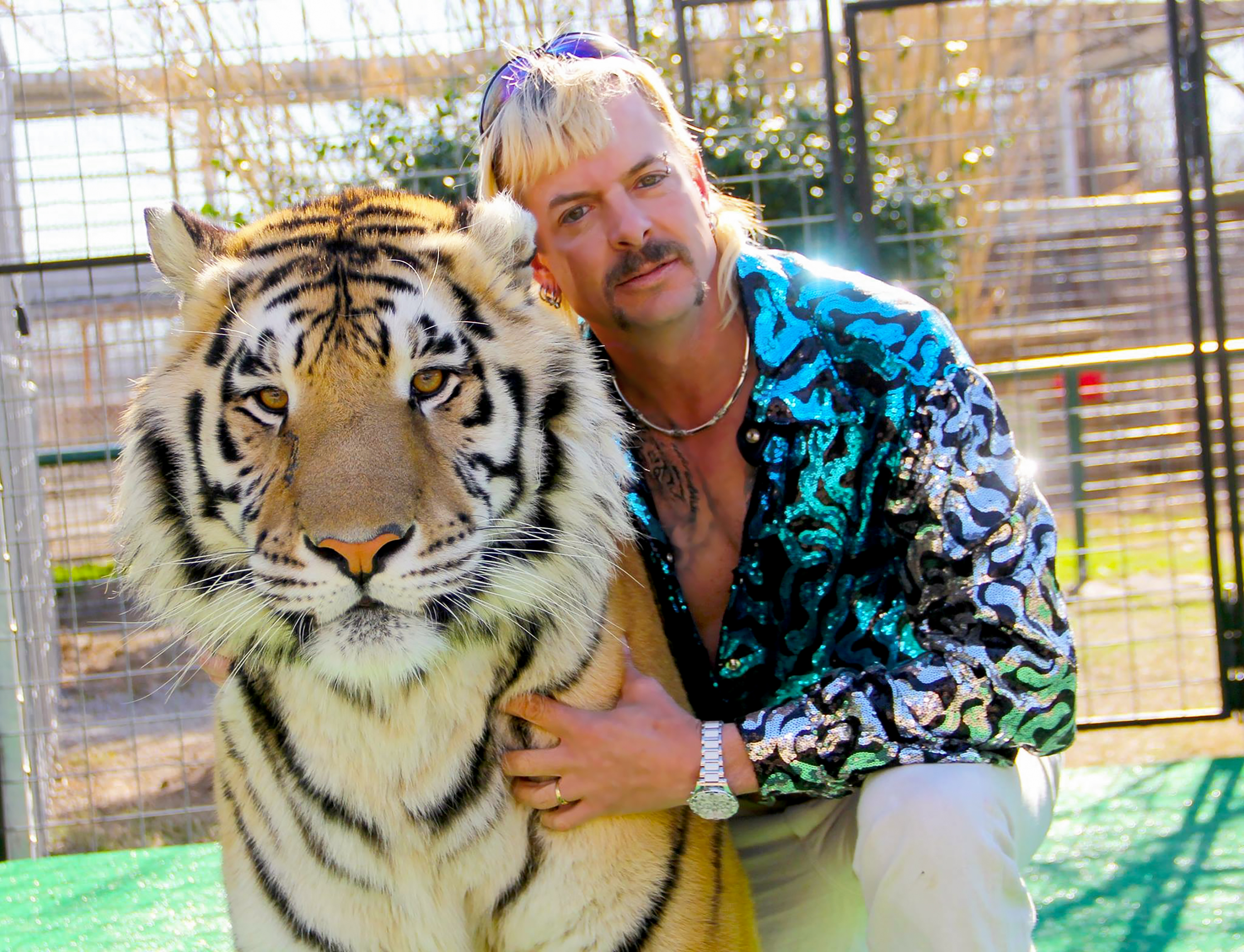 Joe Exotic in Tiger King: Murder, Mayhem and Madness (2020)