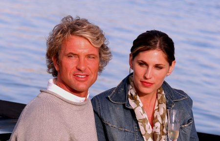 Edward F. Villaume and Amanda Bauman in Things You Don't Tell... (2006)