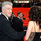 David Lynch and Emily Stofle at an event for My Blueberry Nights (2007)
