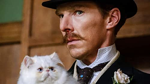 """The extraordinary true story of eccentric British artist Louis Wain (Benedict Cumberbatch), whose playful, sometimes even psychedelic pictures helped to transform the public's perception of cats forever. Moving from the late 1800s through to the 1930s, we follow the incredible adventures of this inspiring, unsung hero, as he seeks to unlock the """"electrical"""" mysteries of the world and, in so doing, to better understand his own life and the profound love he shared with his wife Emily Richardson (Claire Foy)."""