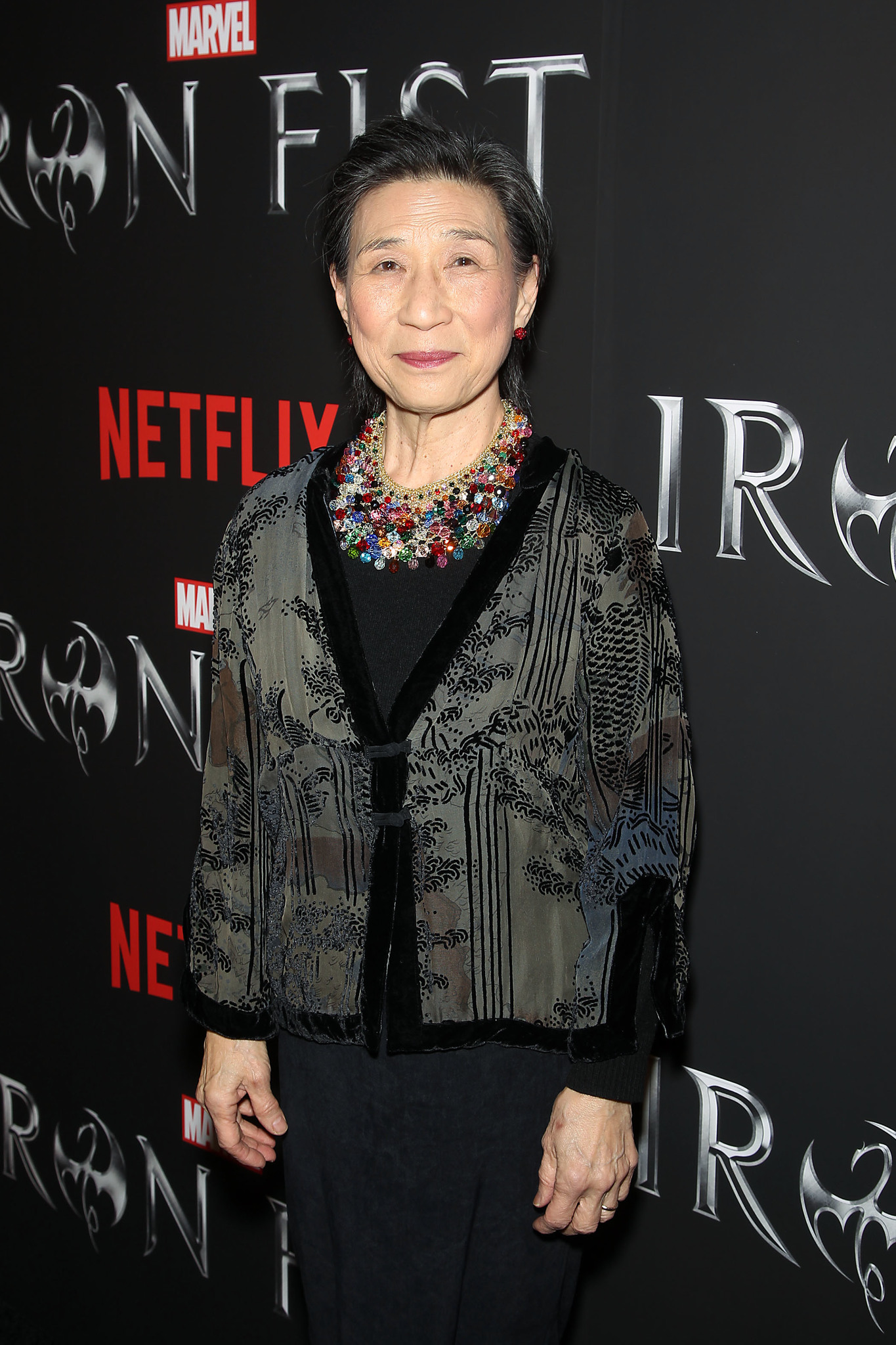 Wai Ching Ho at an event for Iron Fist (2017)