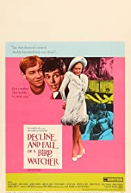Felix Aylmer, Colin Blakely, and Geneviève Page in Decline and Fall... of a Birdwatcher (1968)