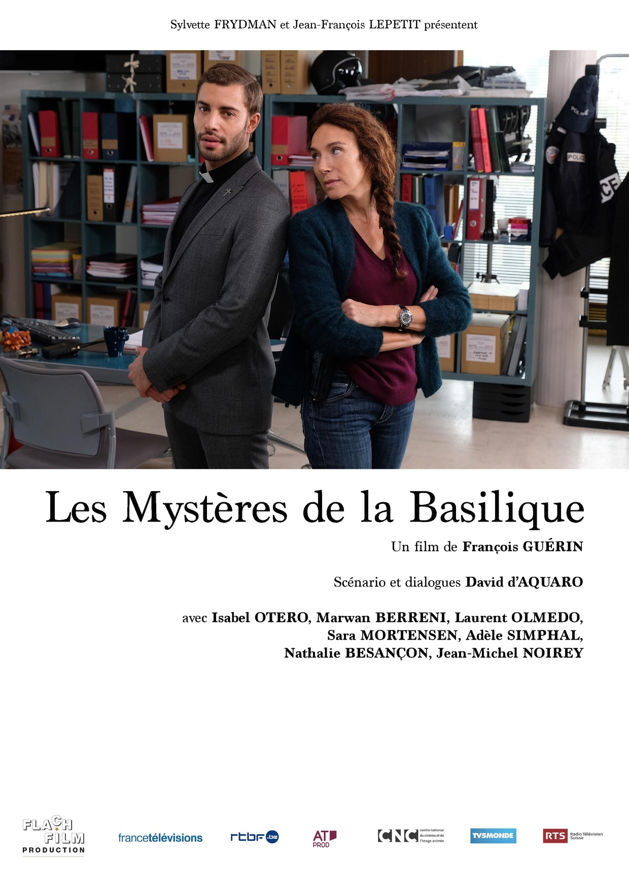 Les Mystères de la basilique (TV Movie 2018) - IMDb