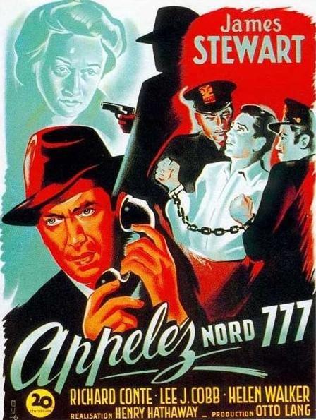 James Stewart, Richard Conte, and Kasia Orzazewski in Call Northside 777 (1948)