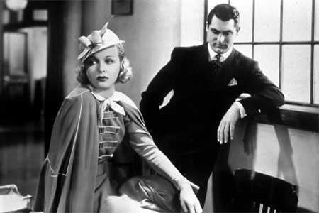 Cary Grant and Joan Bennett in Big Brown Eyes (1936)