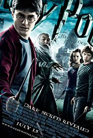 Michael Gambon, Rupert Grint, Daniel Radcliffe, and Emma Watson in Harry Potter and the Half-Blood Prince (2009)