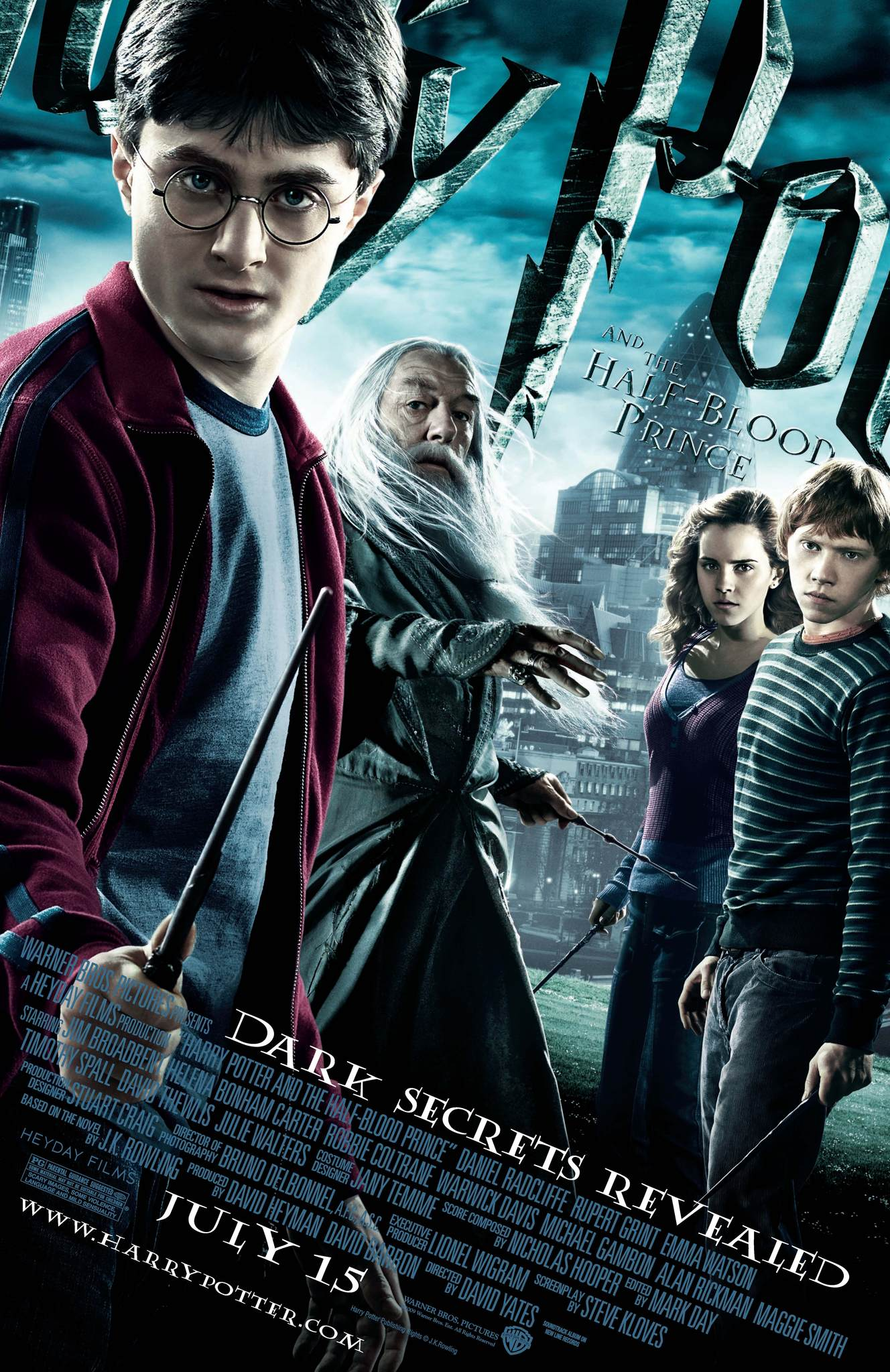 Harry Potter and the Half-Blood Prince (2009) BluRay 480p, 720p, 1080p & 4K-2160p