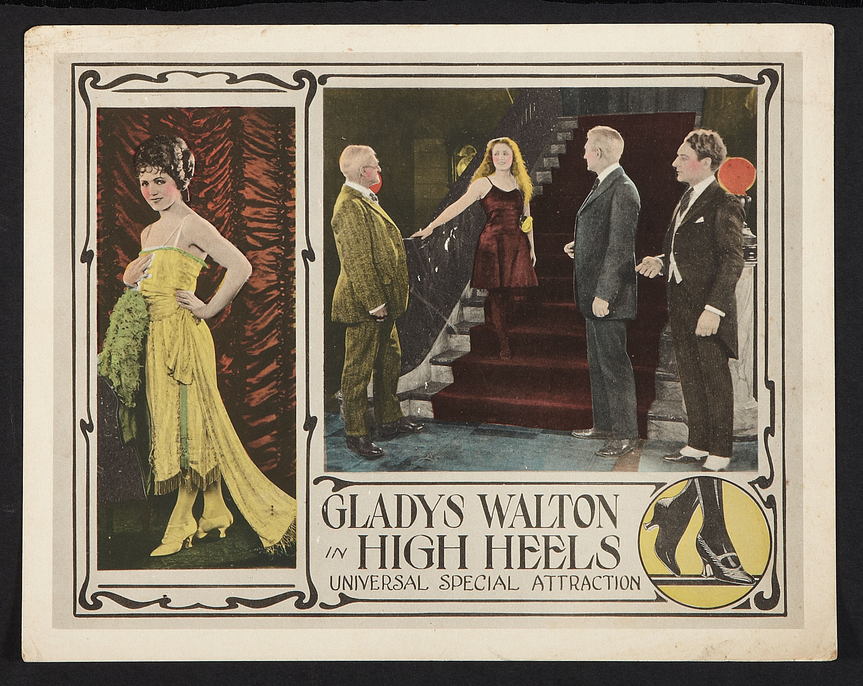 George Hackathorne, Gladys Walton, and William Worthington in High Heels (1921)