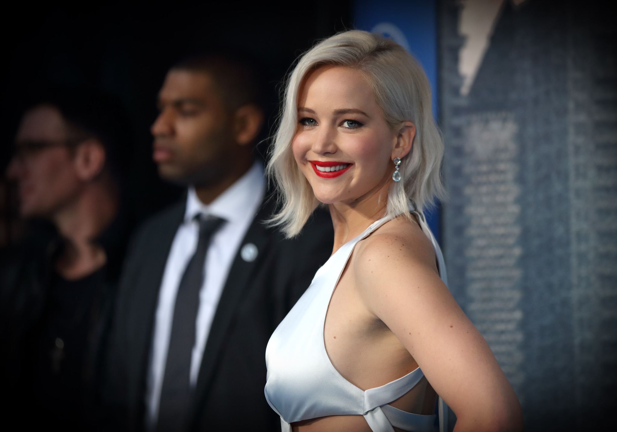 Jennifer Lawrence at an event for X-Men: Apocalypse (2016)