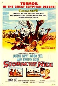 Storm Over the Nile (1956) Poster - Movie Forum, Cast, Reviews