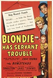 Blondie Has Servant Trouble Poster