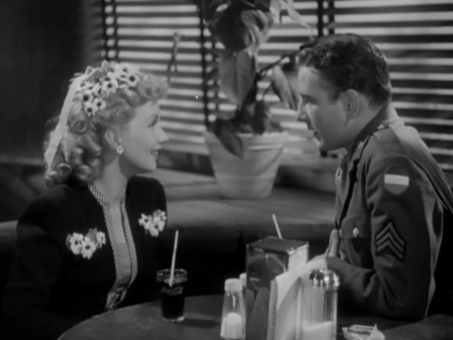 Tom Drake and Ann Sothern in Maisie Goes to Reno (1944)