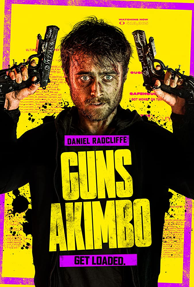 Daniel Radcliffe in Guns Akimbo (2019)