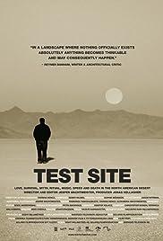 Test Site: North American Desert Culture Poster