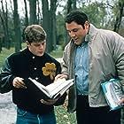 Sean Astin and Jon Favreau in Rudy (1993)