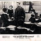 Gino Cervi and Fernandel in Le retour de Don Camillo (1953)