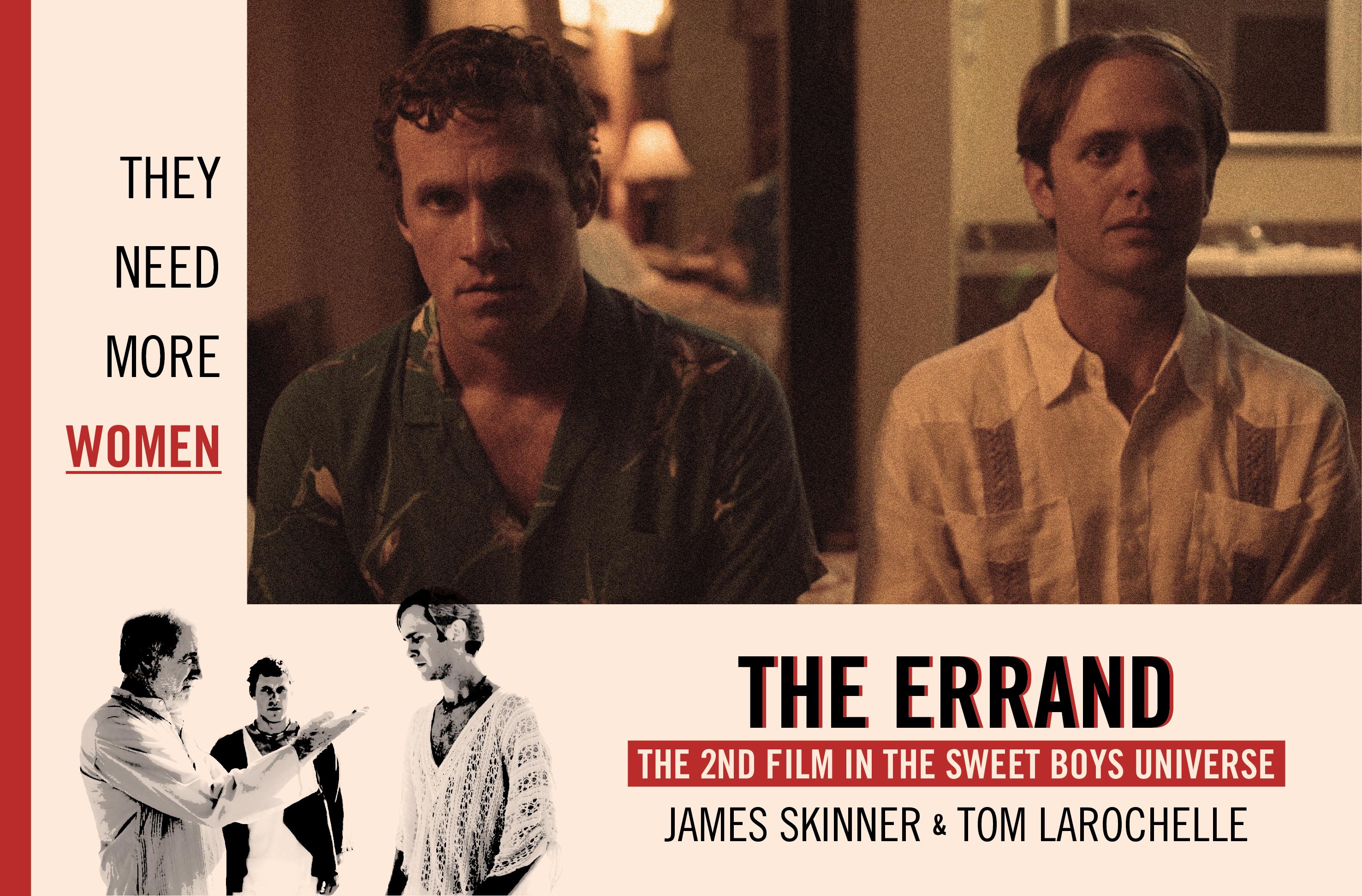 John Henry Richardson, James Skinner, and Tom Larochelle in The Errand (2018)