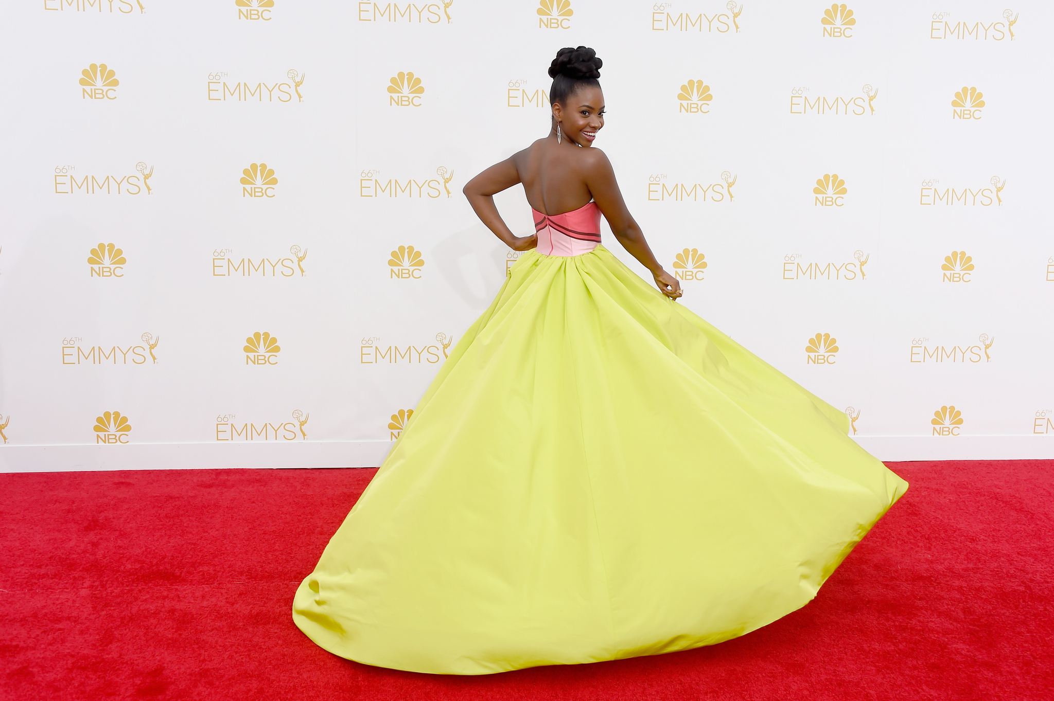 Teyonah Parris at an event for The 66th Primetime Emmy Awards (2014)