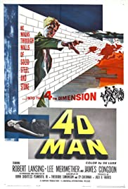 4D Man (1959) Poster - Movie Forum, Cast, Reviews