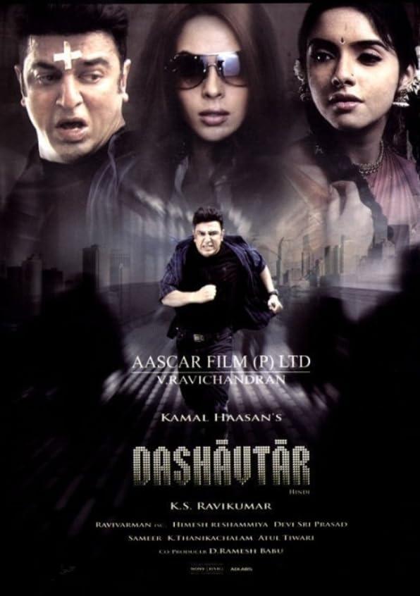 Dasavatharam (2008) Hindi ORG Dual Audio UNCUT 1080p HDRip 3.5GB Download