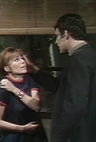Robert Rodan and Kathryn Leigh Scott in Dark Shadows (1966)