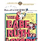 William Bendix and Claire Trevor in The Babe Ruth Story (1948)