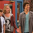 Harrison Houde, Kolton Stewart, Dylan Playfair, and Charlie Storwick in Some Assembly Required (2014)