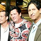 Screening of STRENGTH AND HONOUR ,directed by Mark Mahon, at the New York International Independent Film and Video Festival 2008(red carpet arrivals in NYC) left to right: Mark Mahon, Michael Madsen, Claude Laniado