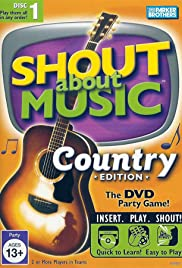 Shout About Music: Country Edition Poster
