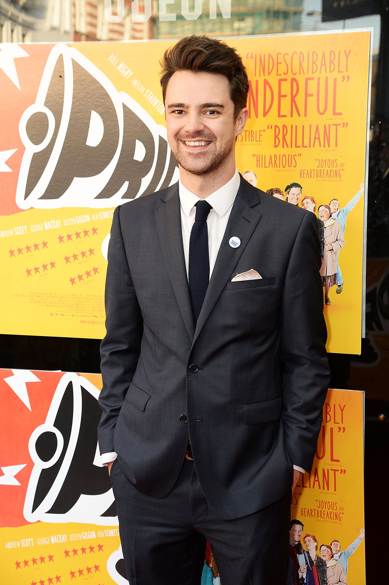 Jack Baggs at an event for Pride (2014)