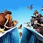 Jennifer Lopez, John Leguizamo, Denis Leary, Ray Romano, Alain Chabat, Peter Dinklage, Nick Frost, Chris Wedge, Aziz Ansari, Rebel Wilson, and Kunal Nayyar in Ice Age: Continental Drift (2012)