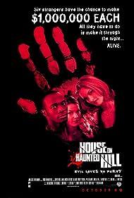 Geoffrey Rush, Taye Diggs, Ali Larter, Chris Kattan, and Bridgette Wilson-Sampras in House on Haunted Hill (1999)