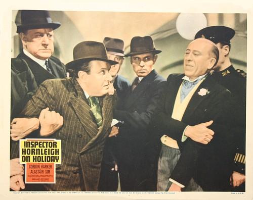 Gordon Harker and Philip Leaver in Inspector Hornleigh on Holiday (1939)